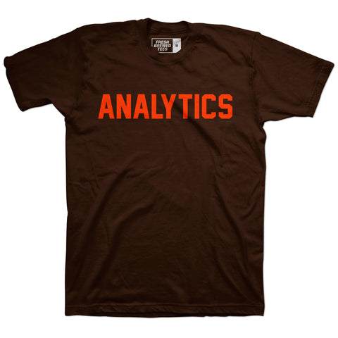 Cleveland Football Analytics T-shirt