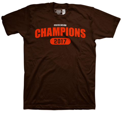 Cleveland Football Preseason Champions T-shirt