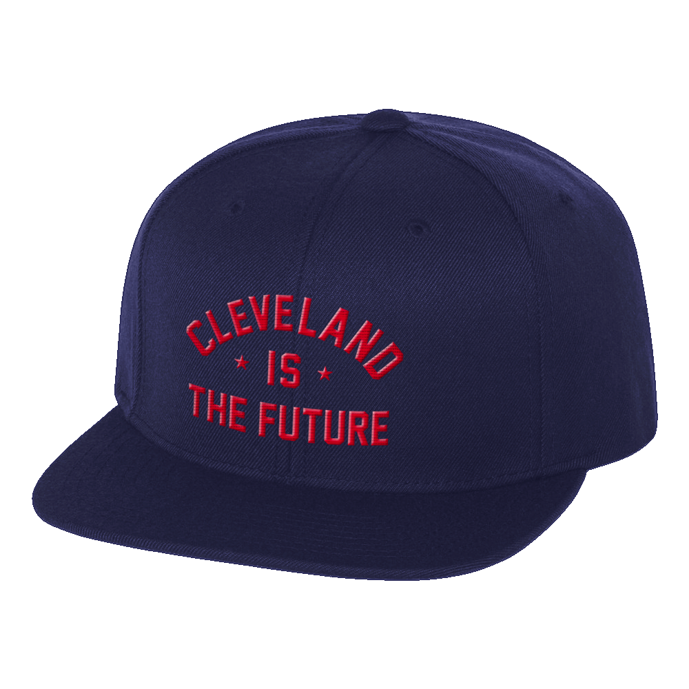 Cleveland is the Future Navy Snap Back Hat