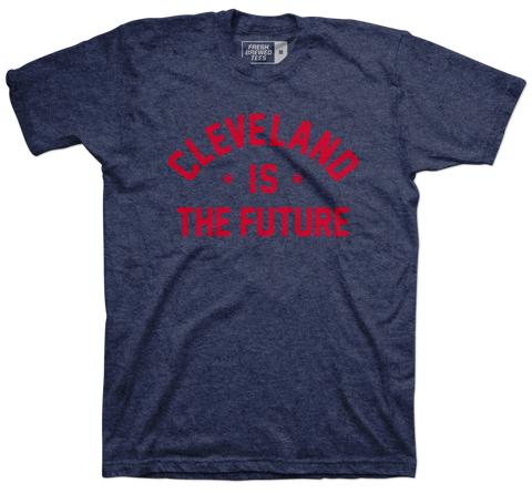 Cleveland is the Future Navy T-shirt
