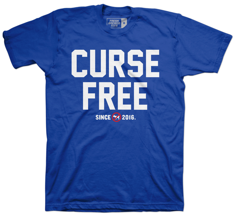 Chicago Baseball Curse Free T-shirt
