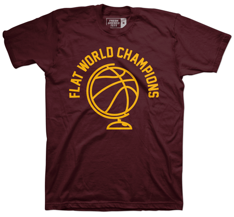 Flat World Champions T-Shirt As Worn By Richard Jefferson