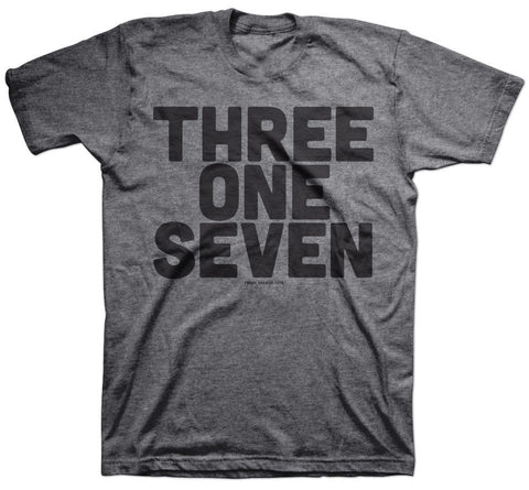 317 Indy Area Code T-Shirt