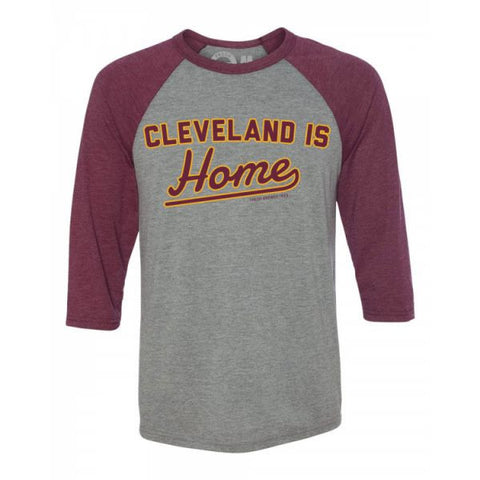 Cleveland Is Home Raglan