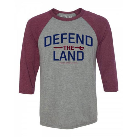 Defend the Land Raglan