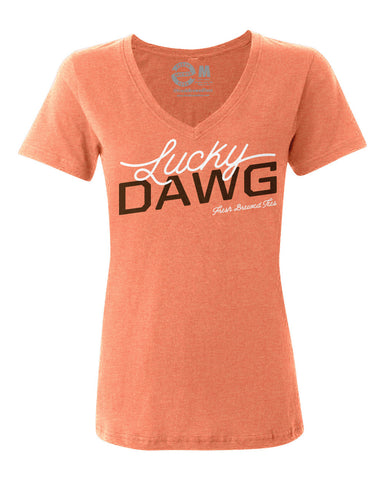 Lucky Dawg Ladies V-Neck
