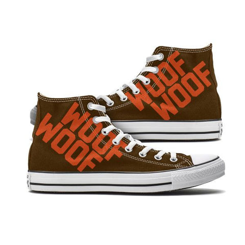 Cleveland Woof Woof Custom High Top Chucks