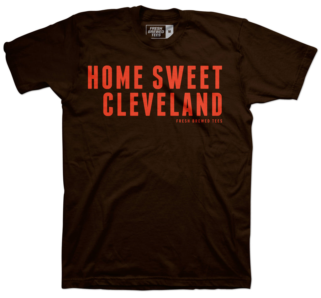 Home Sweet Cleveland Brown T-shirt