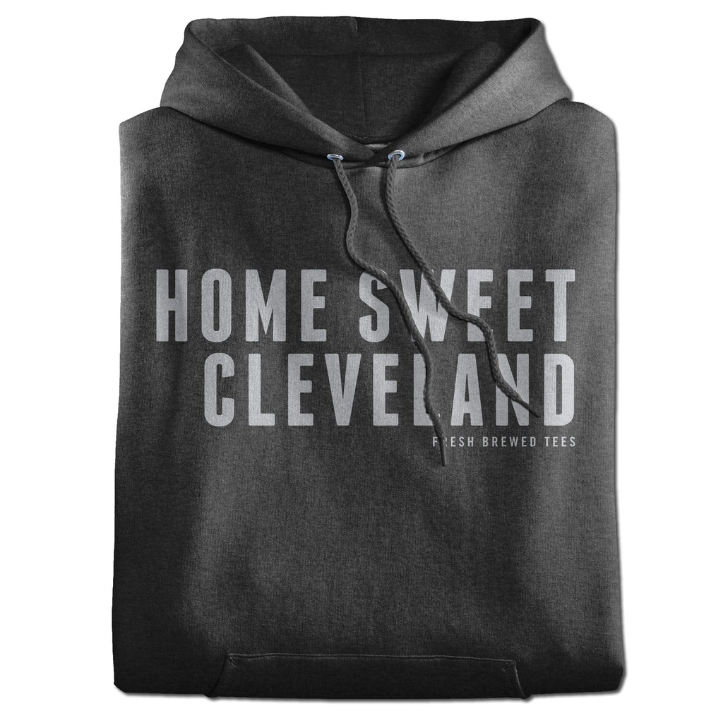 Home Sweet Cleveland Charcoal Hoodie