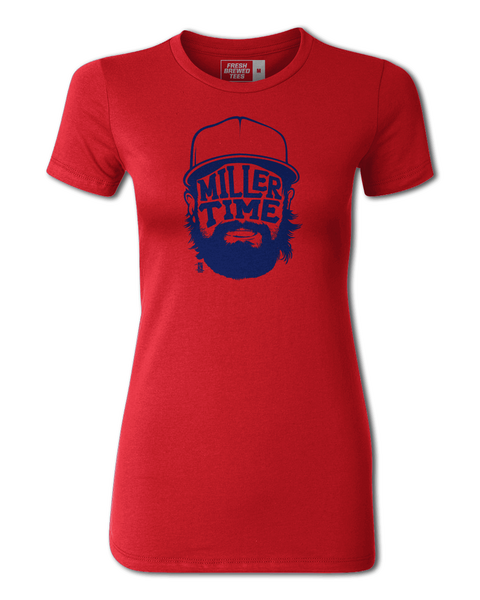 Andrew Miller Miller Time Ladies T-shirt