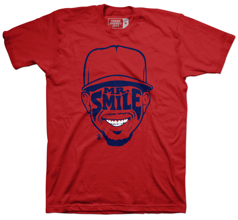 Francisco Lindor Mr. Smile T-shirt