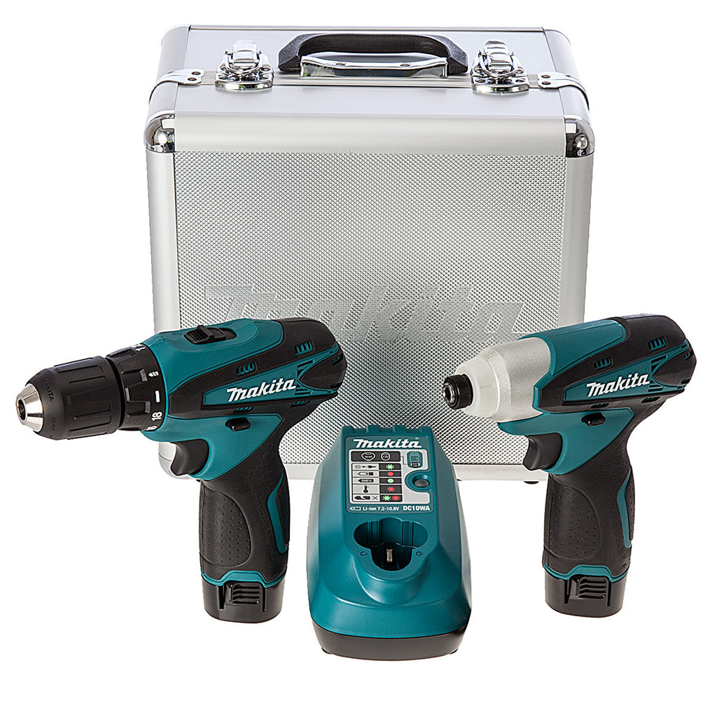 makita lct204 combo 10 8v li ion cordless battery drill. Black Bedroom Furniture Sets. Home Design Ideas