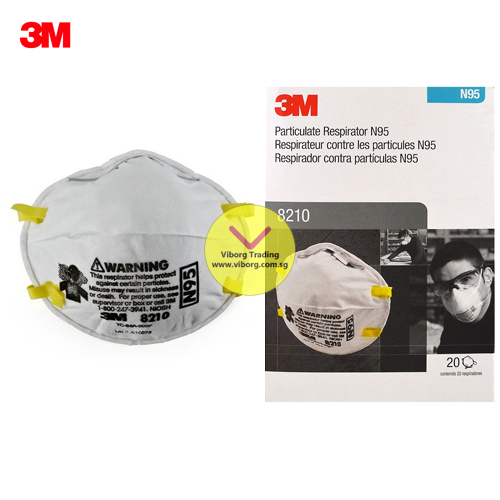 3m Mask 8210 Respirator Particulate N95