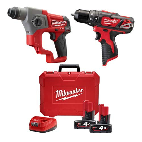 Free Furniture In Milwaukee: Milwaukee 12V Compact SDS Hammer Drill Set