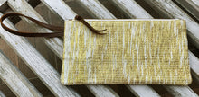 Load image into Gallery viewer, Golden Zari Clutch with Wristlet