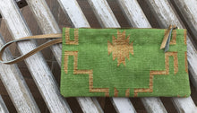 Load image into Gallery viewer, Lime | Gold Clutch with Wristlet