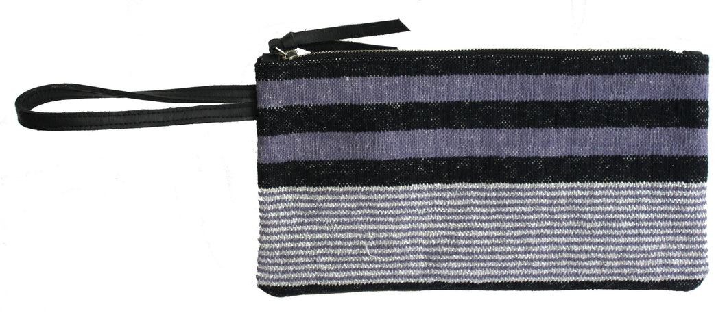 Periwinkle Clutch with Wristlet