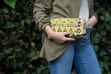 Load image into Gallery viewer, Gold Vintage Gujarati Clutch