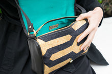Load image into Gallery viewer, Black | Gold Zebra Crossbody