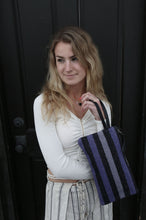 Load image into Gallery viewer, Periwinkle Clutch with Wristlet