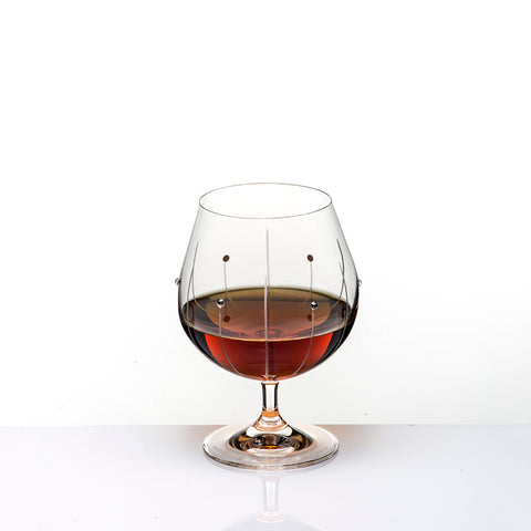 The Falling Rain Brandy Glass