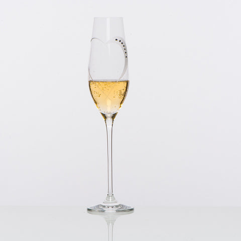 Lovers Sparkling Wine Glasses - set of 2pc in gift box