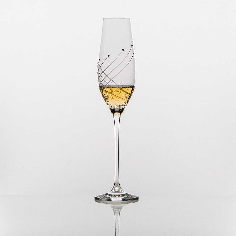 Marilyn Champagne Glass