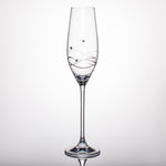 Tristar Champagne Glasses - Set of 2 in a gift box