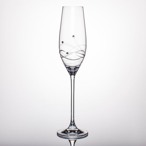 Tristar Champagne Glasses - Set of 2