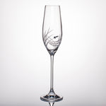 Breeze Champagne Glasses - Set of 2 in gift box
