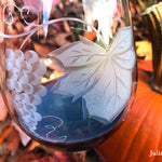Harvest Red Wine Glass
