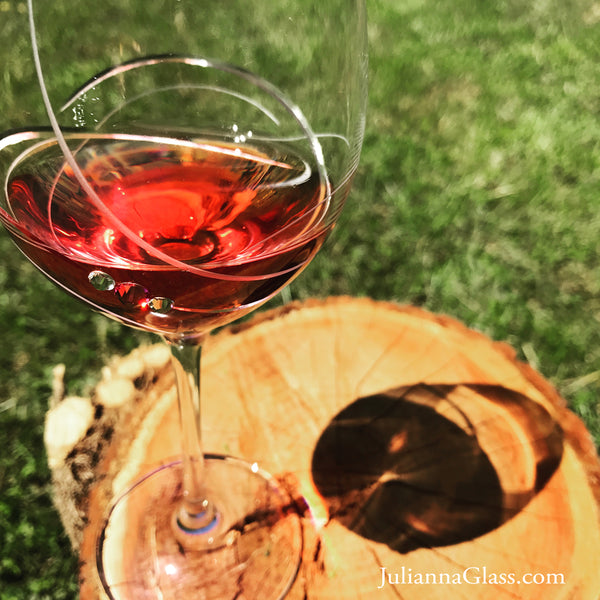 bordeaux-red-wine-glass-pink-ribbon-collection-julianna-glass
