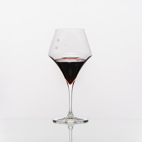 The Drops of Joy Red Wine Glasses