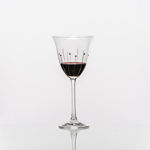 The Falling Rain Red Wine Glass