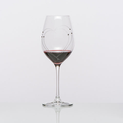 The Lovers Red Wine Glasses