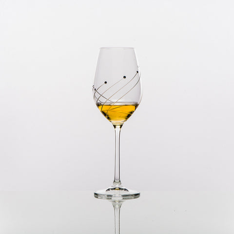 The Marilyn White Wine Glass