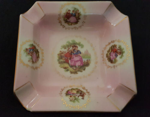 Gloria Fine Porcelain Serving Dish Tableware, Love Story - Western Germany