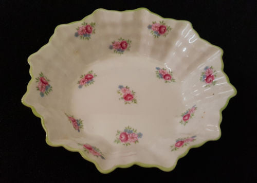 Small Vintage Shelley Fine Bone China Dish Tableware Made in England