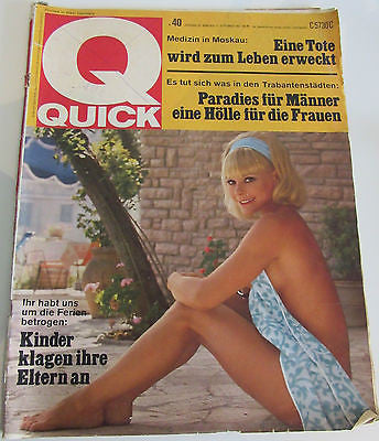 *RARE* QUICK Nr. 40 JANRGANG 20 MUCHEN, 27. SEPTEMBER 1967