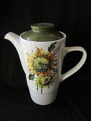 "Vintage Teapot ""Sun Ray"" Hostess Staffordshire Tableware British Anchor England"