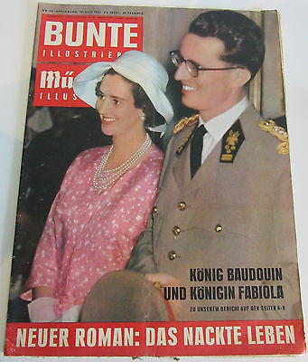 BUNTE ILLUSTRIERTE No. 34 Offenburg, 19, AUG. 1961 (1961) Printed in Germany Magazine