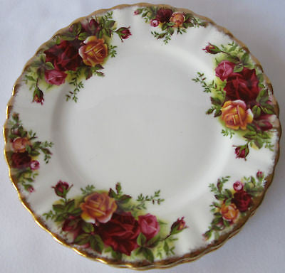 Royal Albert Old Country Roses Plate Bone China England 3 Available Vintage
