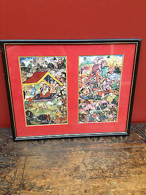 Oriental Framed Art