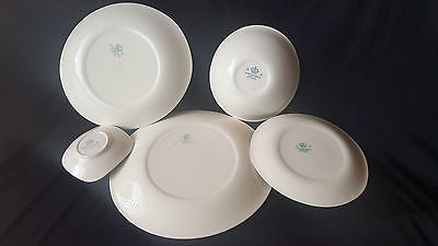 Vintage English Plate Set, Stamped Johnson Bros, made in England