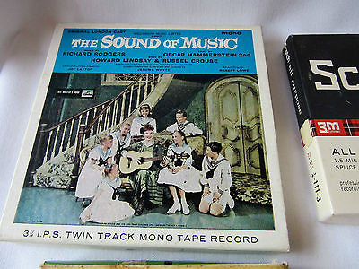 Assorted Vintage Cassette Tapes X6 The Sound of Music Sing along with Mitch old