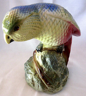 Vintage Bird Sculpture Figurine Made in England Decorative Art Collectable Decor