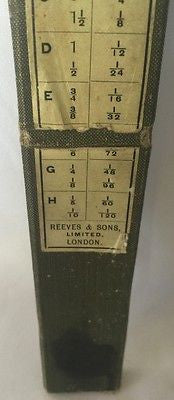 Vintage Card Scales Reeves