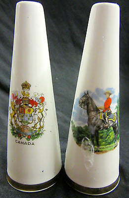 Ceramic Salt And Pepper Shaker Set - Fine Bone China Made In England - 2 Pieces
