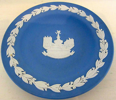 Blue And White Plate - Wedgwood Dinner Plate - Blue Decorative Plate