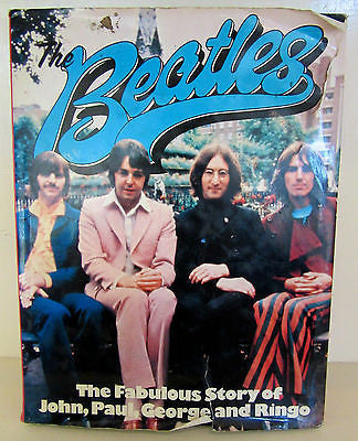 The Beatles Book 'The Fabulous Story of John, Paul, George & Ringo'